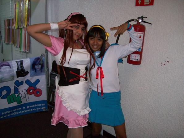 haruhi y otra chica
