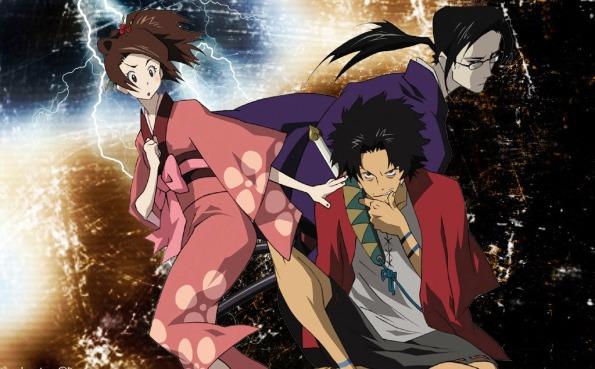 Fuu,Mugen y Jin!!